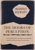 Books:Medicine, [Jerry Weist]. Aldous Huxley. The Doors of Perception. [NewYork]: Harper & Brothers, [1954]. Later impression. Octa...