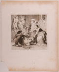 Books:Prints & Leaves, Wilhelm von Kaulbach. Lot of Nine Steel Engraved Illustrations FromReynard the Fox Including the Suppressed Illus... (Total: 9Items)