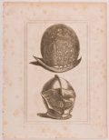 Books:Prints & Leaves, Lot of Six Engraved Prints Featuring English Armor andAccoutrements. From Military Antiquities Respecting a History ofth... (Total: 6 Items)