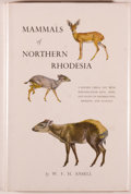 Books:Natural History Books & Prints, W. F. H. Ansell. Mammals of Northern Rhodesia. Lusaka (North Rhodesia): The Government Printer, 1960. Revised ed...