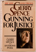 Books:Biography & Memoir, Gerry Spence and Anthony Polk. INSCRIBED. Gerry Spence: GunningFor Justice. Garden City: Doubleday & Company, I...
