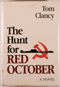 Books:Mystery & Detective Fiction, Tom Clancy. The Hunt for Red October. Annapolis: NavalInstitute Press, [1984]. Later printing. Octavo. 387 pages. P...