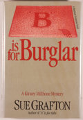 "Books:Mystery & Detective Fiction, Sue Grafton. ""B"" is for Burglar. New York: Holt, Rinehartand Winston, 1985. First edition. Octavo. 229 pages. P..."