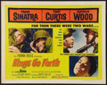 "Movie Posters:War, Kings Go Forth (United Artists, 1958). Half Sheet (22"" X 28"").Style A. War.. ..."