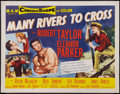 """Movie Posters:Comedy, Many Rivers to Cross & Other Lot (MGM, 1955). Half Sheets (2) (22"""" X 28""""). Style B & Style A. Comedy.. ... (Total: 2 Items)"""