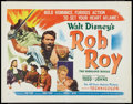 "Movie Posters:Adventure, Rob Roy, the Highland Rogue (RKO, 1954). Half Sheets (2) (22"" X28""). Styles A & B. Adventure.. ... (Total: 2 Items)"