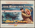 "Movie Posters:War, The Sea Chase & Other Lot (Warner Brothers, 1955). Half Sheets(2) (22"" X 28""). Regular and Style B. War.. ... (Total: 2 Items)"
