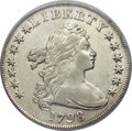 Early Dollars, 1798 $1 Large Eagle, Pointed 9 XF45 PCGS. B-15, BB-112, R.3....