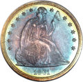 Proof Seated Dollars, 1861 $1 PR66 ★ NGC....