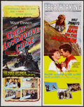 """Movie Posters:Adventure, Third Man on the Mountain and Other Lot (Buena Vista, 1959).Inserts (2) (14"""" X 36""""). Adventure.. ... (Total: 2 Items)"""