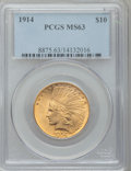 Indian Eagles, 1914 $10 MS63 PCGS....