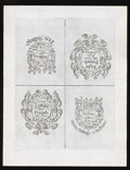 Colonial Notes:New Hampshire, New Hampshire April 3, 1742 40s/10s-£8/40s-20s/£4-30s/7s6d UncutSheet of Cohen Reprints Extremely Fine. . ...