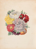 Books:Color-Plate Books, [Hand-Colored Plates]. Flora's Dictionary, by a Lady. Baltimore, Fielding Lucas, Jun., [1832]. First edition. Approx...