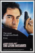 "Movie Posters:James Bond, The Living Daylights (United Artists, 1987). One Sheet (27"" X 41"").Advance. James Bond.. ..."
