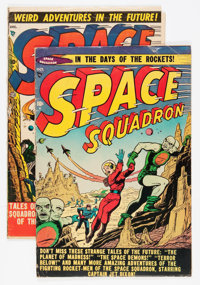 Space Squadron #3 and 4 Group (Atlas, 1951).... (Total: 2 Comic Books)