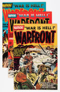Golden Age (1938-1955):War, Warfront Group (Harvey, 0) Condition: Average NM.... (Total: 17Comic Books)