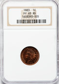 Proof Indian Cents, 1883 1C PR65 Red NGC....