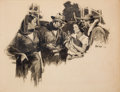 Pulp, Pulp-like, Digests, and Paperback Art, RAEBURN VAN BUREN (American, 1891-1987). Saturday Evening Post(group of three). Charcoal on board. 21 x 16 in. (largest...(Total: 3 Items)