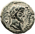 Ancients:Judaea, Ancients: Gaza, Judaea. Marcus Aurelius (198 - 217 AD). AE (21mm,5.98 gm, 12h). ...