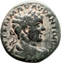 Ancients:Judaea, Ancients: Diospolis-Lod, Judaea. Caracalla (198 - 217 AD). AE(26mm, 12.20 gm, 12h). ...
