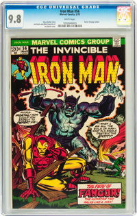 Iron Man #56 (Marvel, 1973) CGC NM/MT 9.8 White pages
