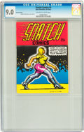 Silver Age (1956-1969):Alternative/Underground, Snatch Comics #1 Second Printing (Apex Novelties, 1968) CGC VF/NM9.0 Off-white to white pages....
