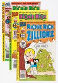 Bronze Age (1970-1979):Humor, Richie Rich Zillionz File Copy Group (Harvey, 1976-82) Condition: Average NM-.... (Total: 62 Comic Books)