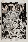 Original Comic Art:Covers, Joe Kubert Tomahawk #135 Cover Original Art (DC, 1971)....