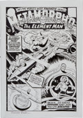 Original Comic Art:Covers, Ramona Fradon Metamorpho #2 Cover Re-Creation Original Art(undated)....