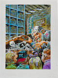 Original Comic Art:Covers, Jack Davis A Tale from the Crypt: Class Trip Crypt KeeperCover Illustration Original Art (Random House, 1997)....