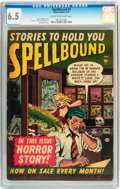 Golden Age (1938-1955):Horror, Spellbound #2 (Atlas, 1952) CGC FN+ 6.5 Cream to off-whitepages....