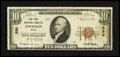 National Bank Notes:Maine, Lewiston, ME - $10 1929 Ty. 1 The First NB Ch. # 330. ...