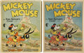 Books:Children's Books, [Walt Disney Studios]. Mickey Mouse in King Arthur's Court.New York: Blue Ribbon Books, Inc., [1933]. First ed...