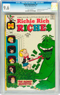 Bronze Age (1970-1979):Humor, Richie Rich Riches #1 File Copy (Harvey, 1972) CGC NM+ 9.6 Off-white to white pages....