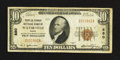 National Bank Notes:Maine, Waterville, ME - $10 1929 Ty. 1 The Peoples-Ticonic NB Ch. # 880....