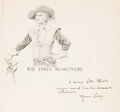 Books:Original Art, [Maurice Leloir, illustrator]. Alexandre Dumas. The ThreeMusketeers. Translated by William Robson with a Letter fro...