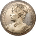 Coins of Hawaii, 1891 Huth Hawaii Silver Dollar PR62 NGC. Medcalf 2MH-1....