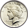 Peace Dollars, 1922 $1 MS67 PCGS....