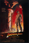 "Movie Posters:Adventure, Indiana Jones and the Temple of Doom (Paramount, 1984). One Sheet(27"" X 40""). Style A. Adventure.. ..."