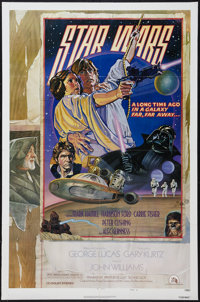 "Star Wars (20th Century Fox, 1977). One Sheet (27"" X 41""). Style D. Science Fiction"