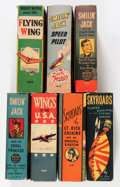 "Big Little Book:Miscellaneous, Big Little Book ""Flight"" Group (Whitman, 1930s) Condition: AverageVF.... (Total: 7 Comic Books)"