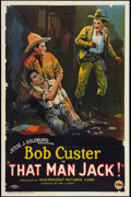 "Movie Posters:Western, That Man Jack! (FBO, 1925). One Sheet (27"" X 41""). Western.. ..."