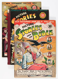 Picture Stories from the Bible Group (DC, 1943-53).... (Total: 5 Comic Books)