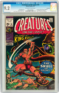 Bronze Age (1970-1979):Horror, Creatures on the Loose #10 Twin Cities pedigree (Marvel, 1971) CGCNM- 9.2 Off-white to white pages....
