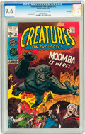 Bronze Age (1970-1979):Horror, Creatures on the Loose #11 Twin Cities pedigree (Marvel, 1971) CGCNM+ 9.6 Off-white to white pages....