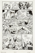 Original Comic Art:Panel Pages, Eric Powell Drawing on Your Nightmares Halloween Special The Goon Page 8 Original Art (Dark Horse, 200...