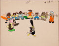 Animation Art:Limited Edition Cel, Production Cel Animation Art (undated)....
