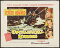 "Movie Posters:War, Cockleshell Heroes (Columbia, 1956). Half Sheet (22"" X 28""). StyleB. War.. ..."
