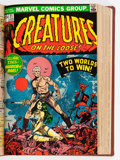 Bronze Age (1970-1979):Horror, Creatures on the Loose #10-37 Bound Volume (Marvel, 1971-75)....