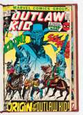 Bronze Age (1970-1979):Western, Outlaw Kid #10-16 Bound Volume (Marvel, 1972-73)....